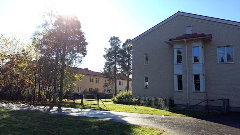 Äldreboendet Solhaga i Sundsvall.