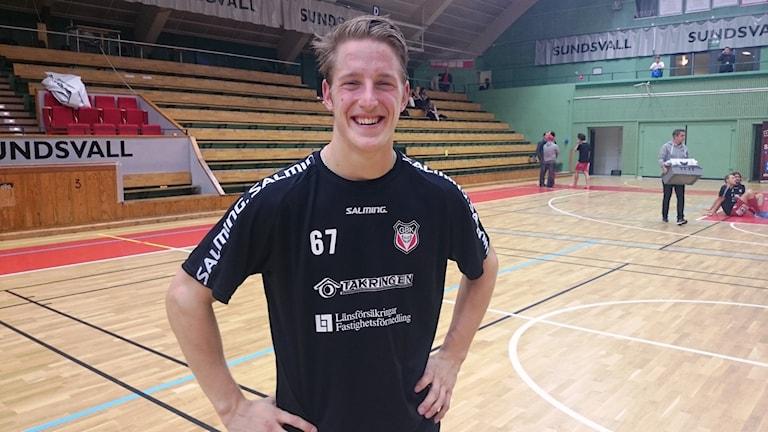 Granlos Daniel Nordlund stod för två mål mot Dalen, men det räckte inte. Foto: Carl-Johan Höiby/SR / Arkiv