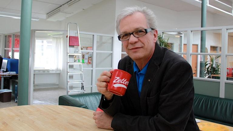 Christer Jonasson. Foto: Terese Ulander/SR