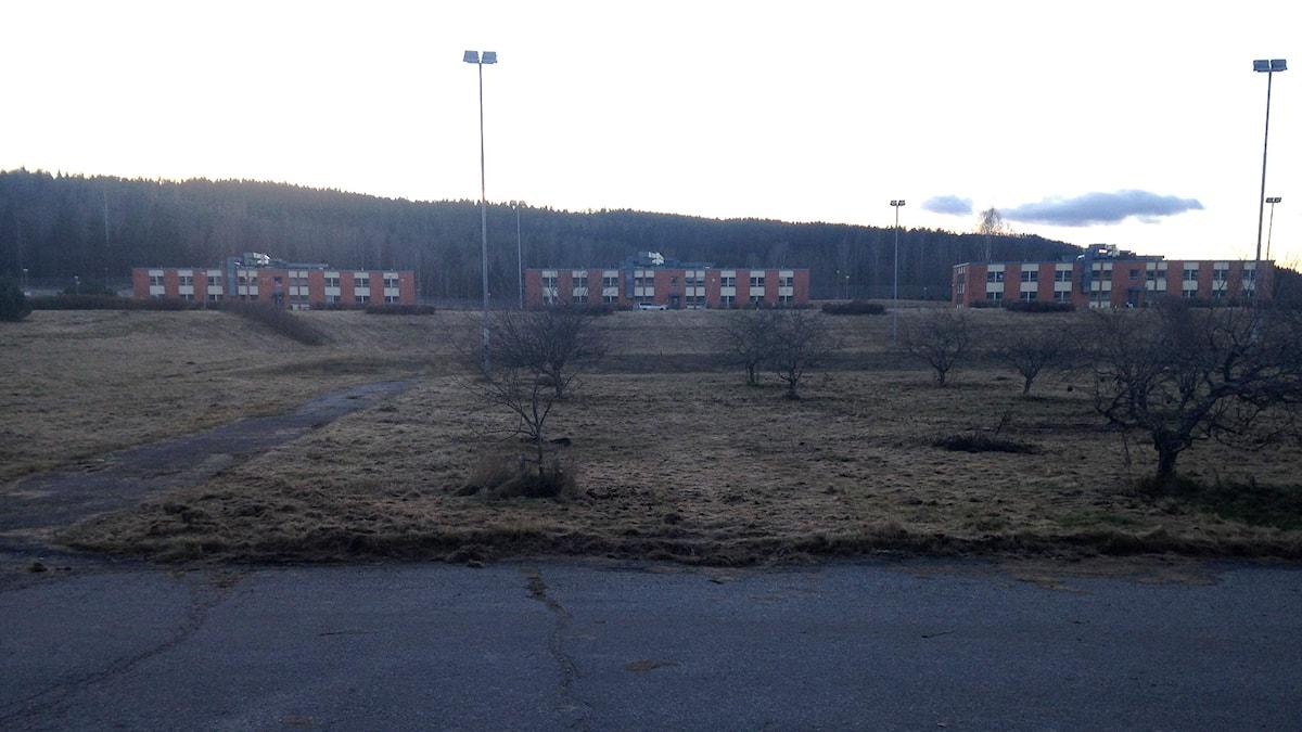 Fd anstalten i Viskan granskas för att bli flyktingboende. Foto: Lotte Nord/SR