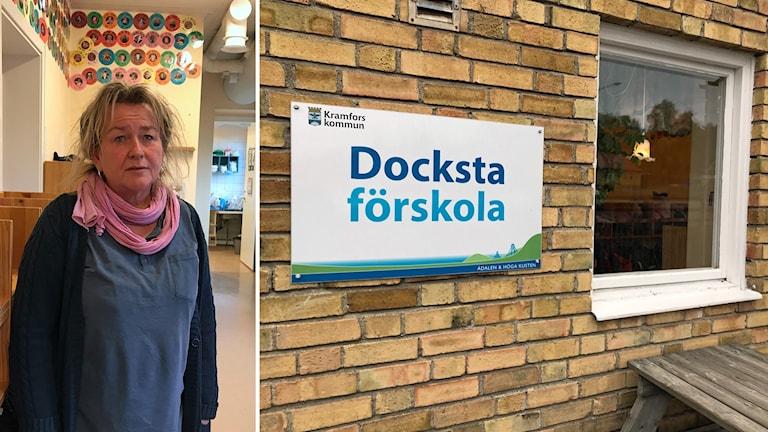 Annika Östman på Docksta förskola.