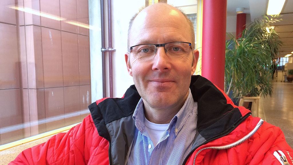 Mats-Johan Adner (M). Foto: Annelie Ledin/Sveriges Radio