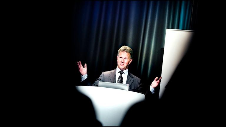 Jan Johansson, VD SCA. Foto: David Magnusson/SvD/TT