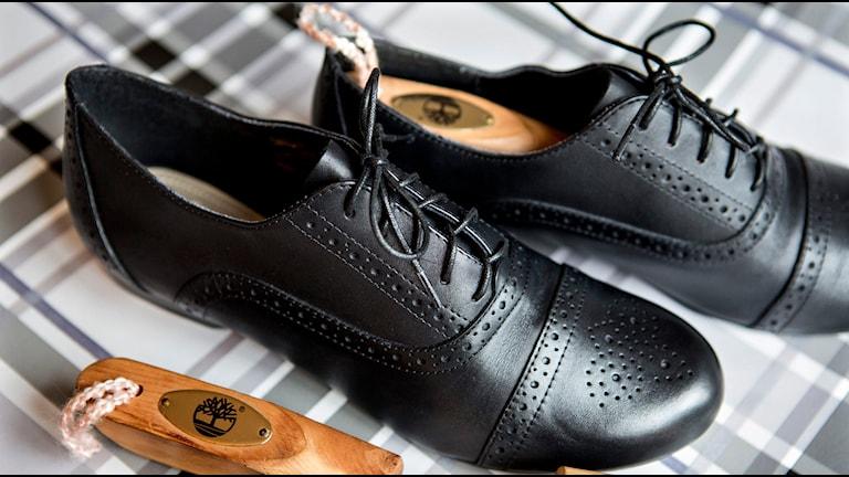 Svarta skor. Foto: Christine Olsson/TT