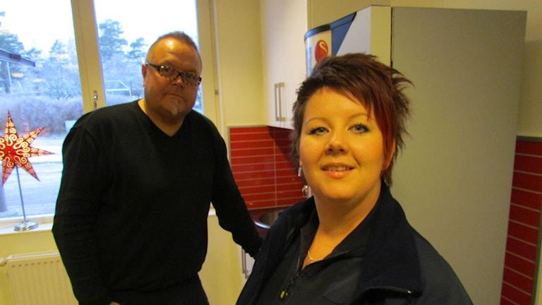 Jeanette Olert är Stafettgäst, Magnus är Programledare.