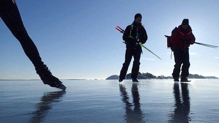 Wie steht es um die Zukunft mancher Wintersportaktivitäten in Schweden (Foto: Tobias Röstlund/TT)