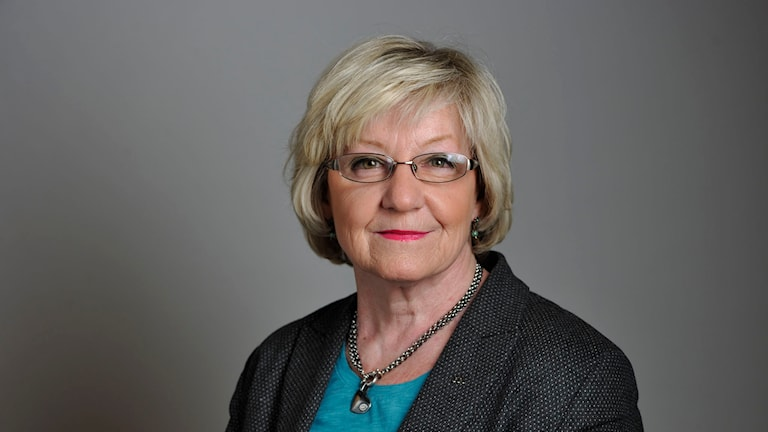 Riksdagsledamot Eva Lohman (M). Foto: Henrik Montgomery/TT