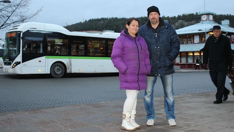Danisa och Michael Atterhagen i Sundsvall är nominerade till Årets västernorrlänning. Foto: Niklas Axelsson/Sveriges Radio