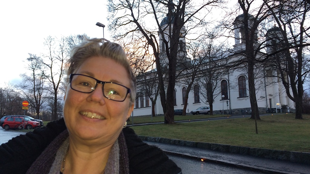 Eva Nordung Byström, biskop i Härnösands stift. Foto Ulla Öhman