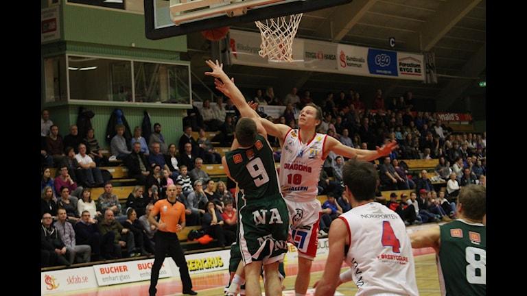 Jakob Sigurdarsson spelade endast 20:15 men blev ändå poängbäst