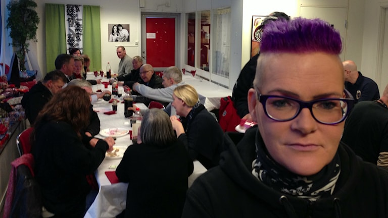 Marika Eljeström handledare på Slink In i Sundsvall. Foto: Christer Suneson