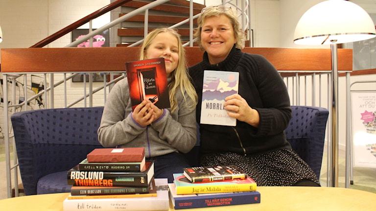 Jonna och Lena med sistaminutentips på bokklappa
