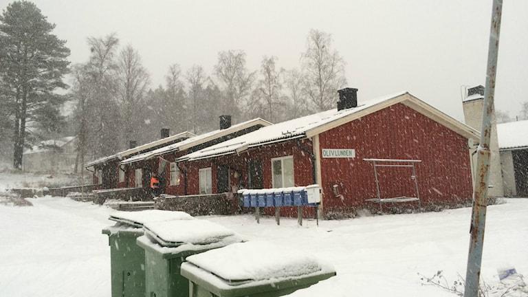 Olivlunden asylboende i Nordingrå. Foto: Annelie Ledin