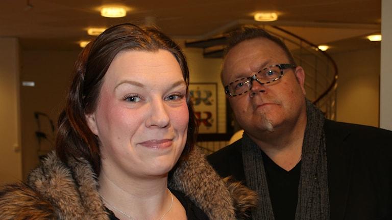 Camilla Samuelsson och Magnus Leijon