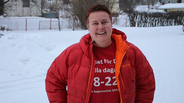 Kicki Söderström. Foto: Ulf Thonman/SR