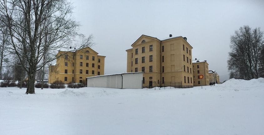 Föredetta regementesområdet I21 i Sollefteå. Foto: Annelie Ledin