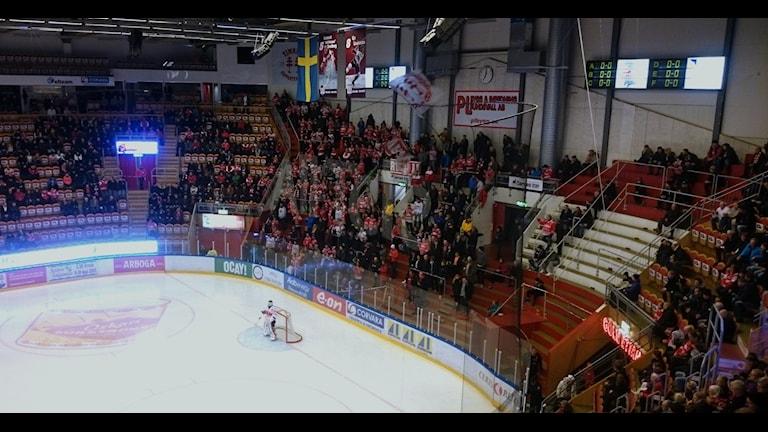 Timrå fick med sig en poäng mot Karlskrona. Foto: Carl-Johan Höiby