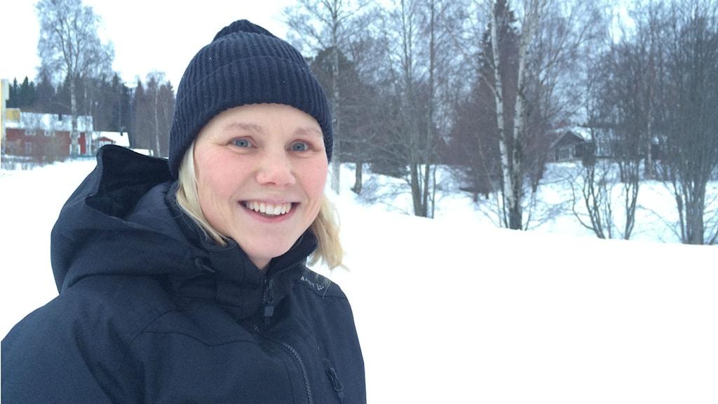 Anna Olsson. Foto: TullaMaja Fogelberg/Sveriges Radio