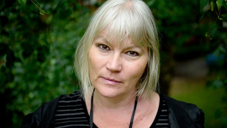 Journalisten, debattören och författaren Anna-Lena Lodenius. Foto: Jessica Gow/TT