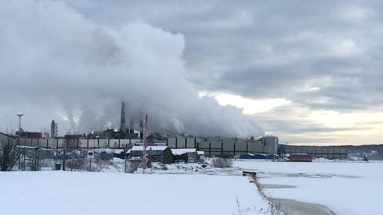 Ortvikens pappersbruk, SCA Sundsvall. Foto: Annelie Ledin