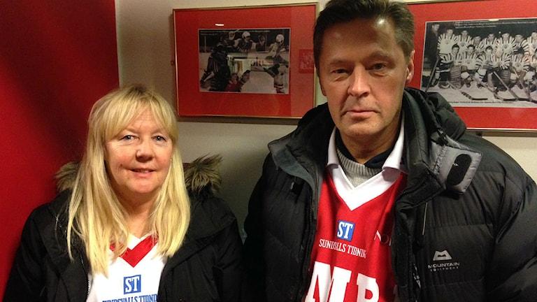 Kicki Nordtsrand och Håkan Nordstrand