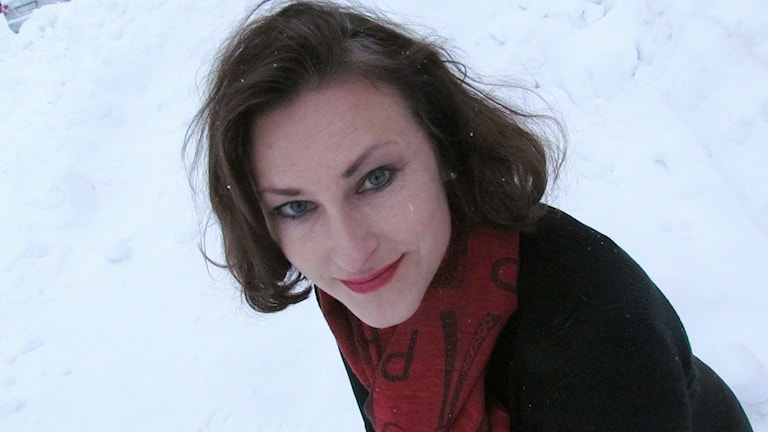 Annika Winhagen. Foto: Karin Lönnå/Sveriges Radio