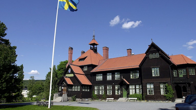Tingshuset i Sollefteå. Foto: Gunnar Lundmark/TT