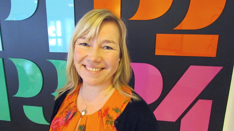 Kirsi Wahlström. Foto: Karin Lönnå/Sveriges Radio