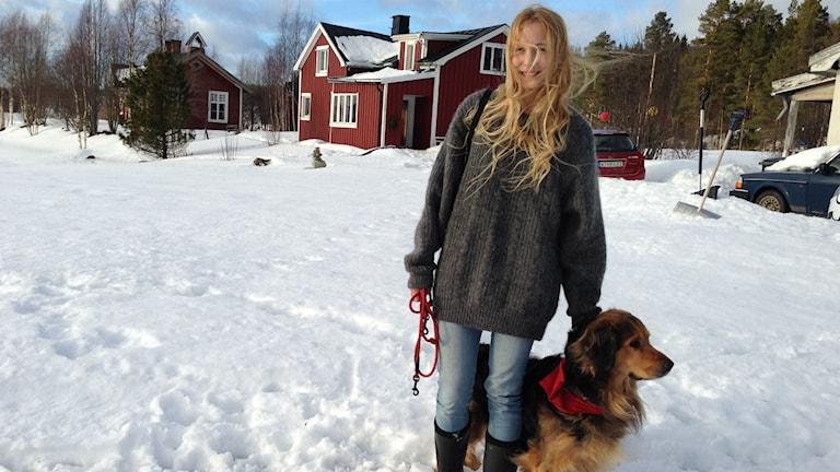 Jonna Jinton. Foto: Niklas Axelsson Sveriges Radio