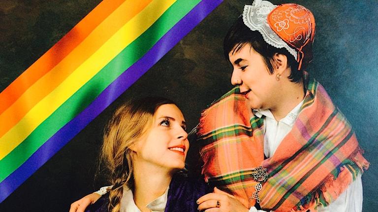 Under Pridefestivalen på Murberget ger Sara Parkman och Samantha Ohlanders en konsert i Hörsalen.