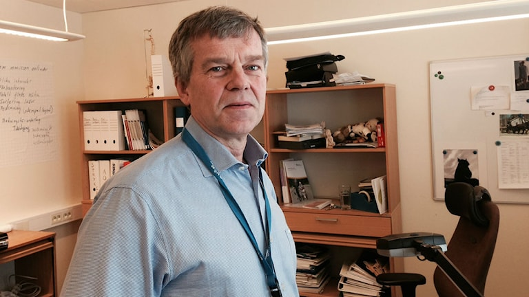 Johan Nilsson, tillförordnad verksamhetschef på ortopeden i Sundsvall
