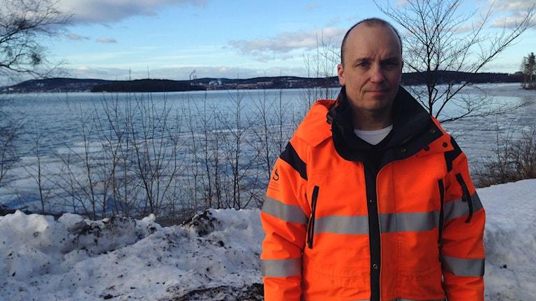Sven-Åke Westman miljöhandläggare, Sundsvalls kommun. Foto: Christer Suneson