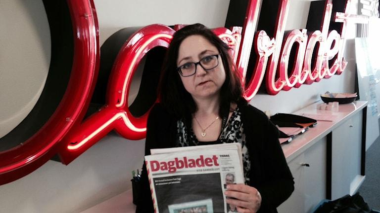 Birgitta Strandh på Dagbladet.