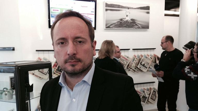 Thomas Peterssohn, VD och koncernchef Mittmedia