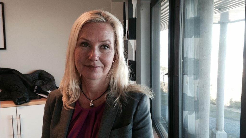 Anna Johansson, infrastrukturminister.