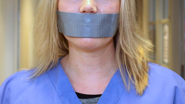 Temavecka om tystnaden på våra arbetsplatser. Foto: Sveriges Radio