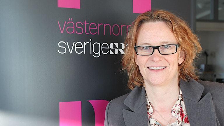 Susanne Helsing, kanalchef P4 Västernorrland. Foto: Sveriges Radio