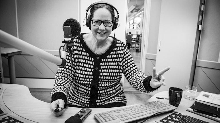 Lotte Nord. Foto: Thea Holmqvist / Sveriges Radio