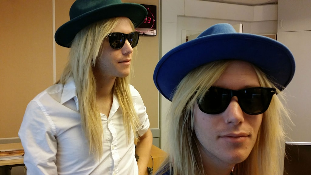 Kalle och Nisse Landeberg. Foto: Erik Nyberg/Sveriges Radio