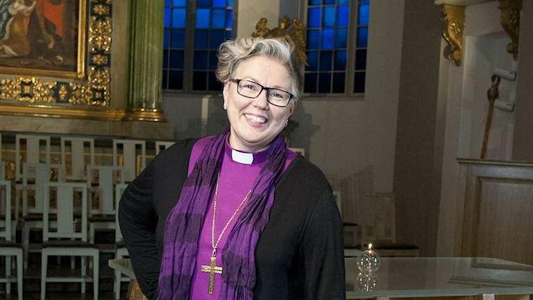 Eva Nordung Byström, biskop. Foto: Kerstin Stickler