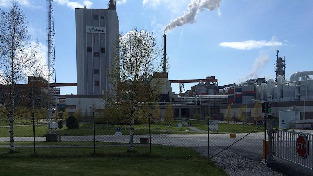 Husumfabriken. Foto: Lennart Sundwall/SR