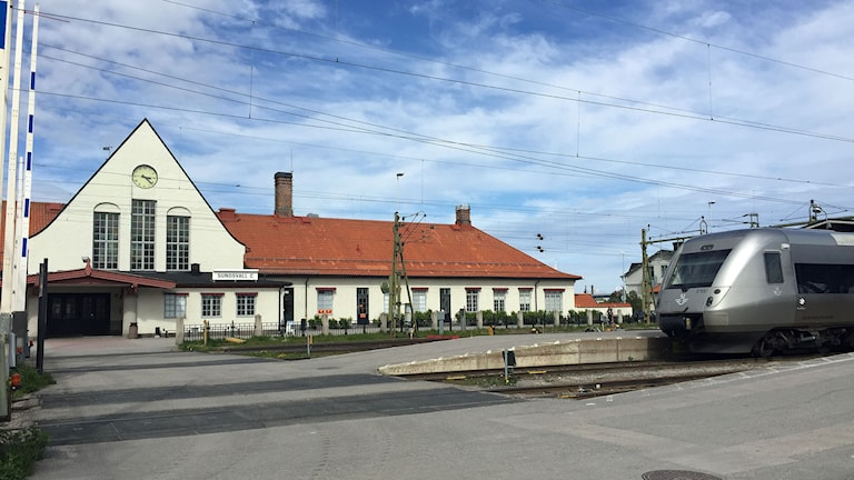 Stationshuset i Sundsvall. Foto: Camilla Bengtsson/SR