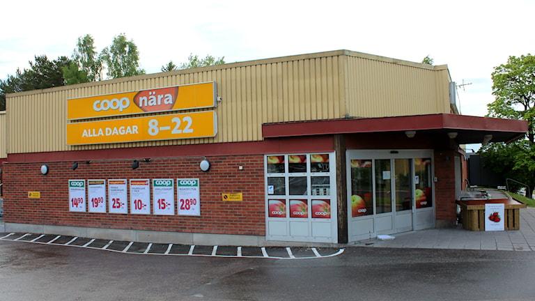 Coop nära i Haga i Sundsvall. Foto: Karin Lycke/SR