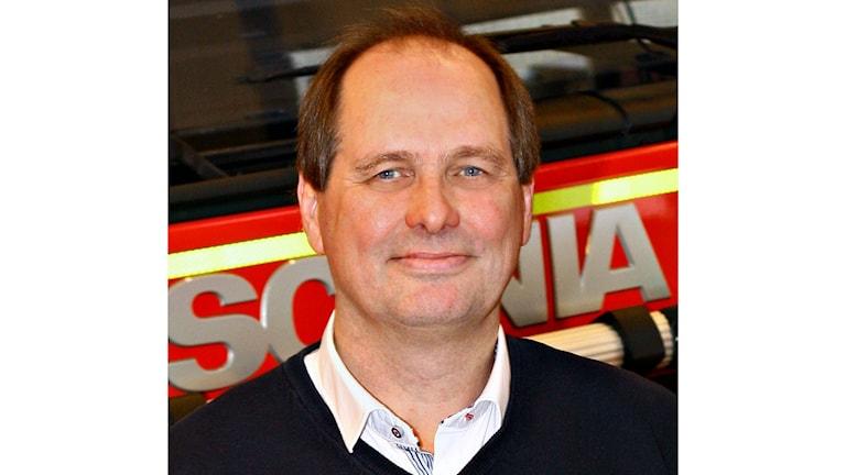 Micael Lundmark, förbundschef vid Räddningstjänsten Jämtland. Foto: Räddningstjänsten