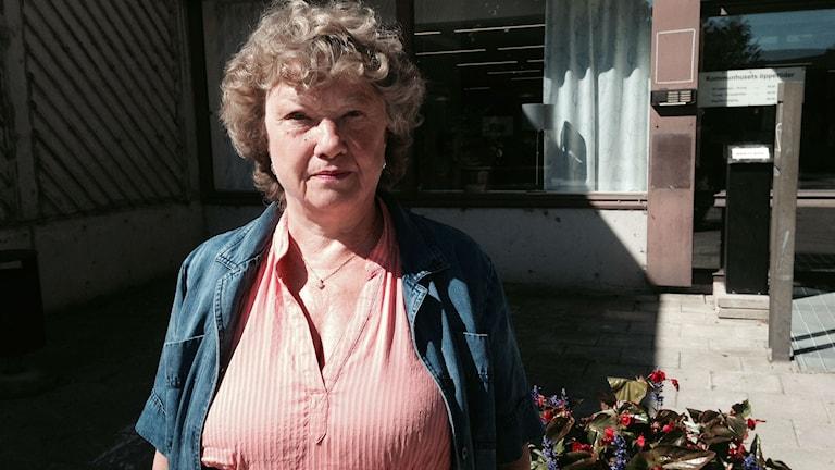 Marja Olofsson, LSS-handläggare på Sundsvalls kommun.