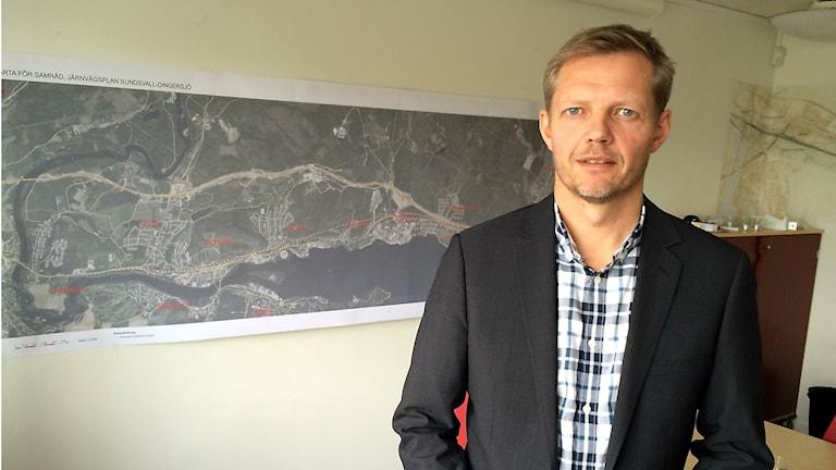 Gustaf Ohlsson, projektledare Trafikverket