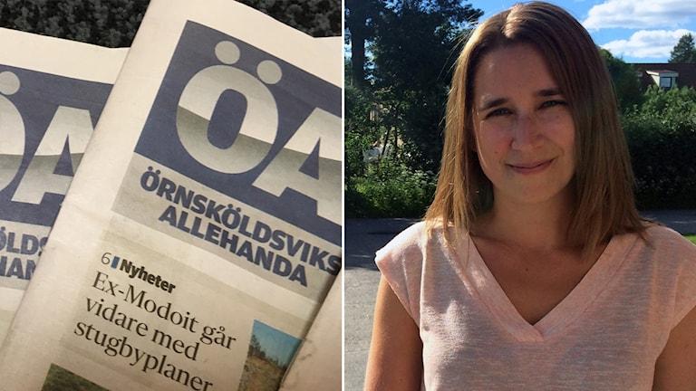 Örnsköldsviks Allehanda och Karin Näslund