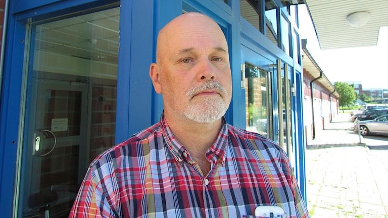 Bengt Eriksson, tillförordnad chef på rättspsyk i Sundsvall. Foto: Ann-Charlotte Carlsson/SR