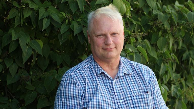 Robert Olsson, ny chef för länsmuséet Murberget. Foto: Ann-Charlotte Carlsson/SR