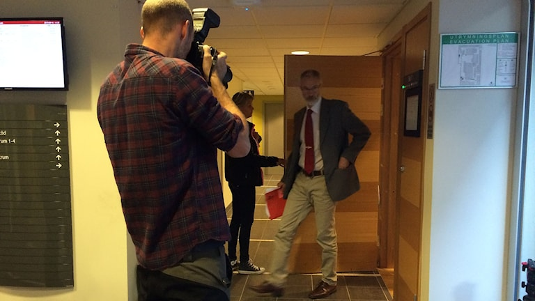Åklagare Peter Salzberg. Foto: Anna Ahlström/SR